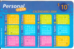 ARGENTINA - Calendar 2004, Personal Prepaid Card $10, Exp.date 31/01/06, Used - Argentinien