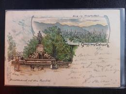 GRUSS AUS COLMAR - 1897 - Colmar