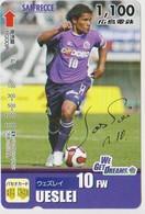 JAPAN - PREPAID-1038 - FOOTBALL - UESLEI - Japan