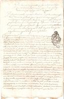 Papier Timbré Généralité De Savoie - Seals Of Generality