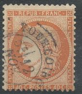 Lot N°44256  N°38, Oblit Cachet à Date De TOURCOING (57) - 1870 Siege Of Paris