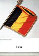 Drapeaux Fanions Etendards Calendrier 1998 De L'Institut Des Invalides De Guerre Et Anciens Combattants - Big : 1991-00