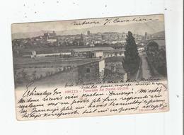 AREZZO 771 PANORAMA DAL DUOMO VECCHIO 1905 - Arezzo