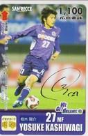 JAPAN - PREPAID-1043 - FOOTBALL - YOSUKE KASHIWAGI - Japan