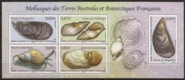 TAAF 2014 - Mollusques Des TAAF - Blocs-feuillets