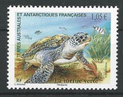 TAAF 2014 - La Tortue Verte De L'océan Indien - Unused Stamps