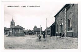 Tongerlo (Limburg) - Kerk En Gemeenteplaats (Geanimeerd) - Bree