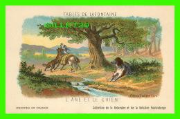 FABLES DE LAFONTAINE D'APRÈS GUSTAVE DORÉ - L'ÂNE ET LE CHIEN - COLLECTION KOLARSINE & SOLUTION PATTAUBERGE - - Contes, Fables & Légendes