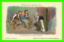 FABLES DE LAFONTAINE D'APRÈS GUSTAVE DORÉ - LE LABOUREUR ET SES ENFANTS - COLLECTION KOLARSINE & SOLUTION PATTAUBERG - Contes, Fables & Légendes