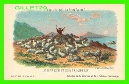 FABLES DE LAFONTAINE D'APRÈS GUSTAVE DORÉ - LE BERGER ET SON TROUPEAU - COLLECTION KOLARSINE & SOLUTION PATTAUBERGE  - Contes, Fables & Légendes