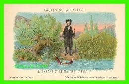 FABLES DE LAFONTAINE D'APRÈS GUSTAVE DORÉ - L'ENFANT ET LE MAITRE D'ÉCOLE  COLLECTION KOLARSINE & SOLUTION PATTAUBER - Contes, Fables & Légendes
