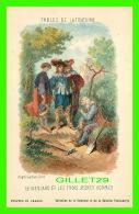 FABLES DE LAFONTAINE D'APRÈS GUSTAVE DORÉ - LE VIEILLARD & LES TROIS - COLLECTION KOLARSINE & SOLUTION PATTAUBER - Contes, Fables & Légendes
