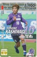 JAPAN - PREPAID-1050 - FOOTBALL - YOSUKE KASHIWAGI - Japan