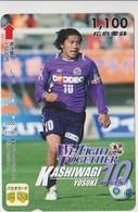 JAPAN - PREPAID-1051 - FOOTBALL - YOSUKE KASHIWAGI - Japan