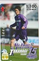 JAPAN - PREPAID-1052 - FOOTBALL - TAKAHAGI YOJIRO - Japan