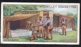 Vieux Papiers > Chromos & Images > Non Classés Wills S Cigarettes  MILITARY MOTORS MOTOR BATHS  N°5 - Old Paper