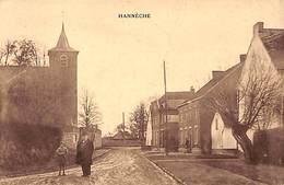 Hannèche (animée, Edit. Vve Paulet-Gossiaux, épicerie Mercerie Aunage) - Burdinne