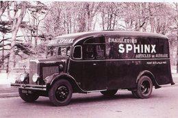 Camionnette Panhard  -  Publicitaire Pour Les émailleries SPHINX - Articles De Ménage      -  15x10 PHOTO - Camion, Tir