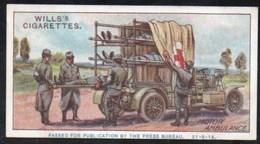 Vieux Papiers > Chromos & Images > Non Classés Wills S Cigarettes  MILITARY MOTORS MOTOR AMBULANCE N°30 - Old Paper