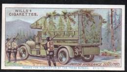 Vieux Papiers > Chromos & Images > Non Classés Wills S Cigarettes  MILITARY MOTORS MOTOR AMBULANCE N°31 - Old Paper
