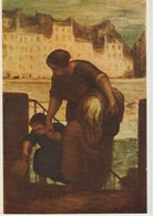 (ART820) HONORE DAUMIER. LA BLANCHISSEUSE. THE LAUNDRESS ... UNUSED - Pintura & Cuadros