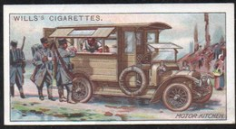 Vieux Papiers > Chromos & Images > Non Classés Wills S Cigarettes  MILITARY MOTORS MOTOR KITCHEN N°27 - Old Paper