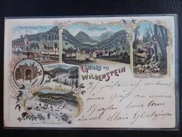 GRUSS AUS WILDENSTEIN - 1900 - Thann