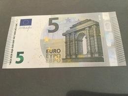 "5 EURO  ""Ireland""    DRAGHI    T 005 F3    TC2648860688  /  FDS - UNC - 5 Euro"