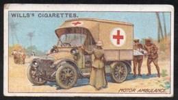 Vieux Papiers > Chromos & Images > Non Classés Wills S Cigarettes  MILITARY MOTORS  MOTOR AMBULANCE N°20 - Old Paper