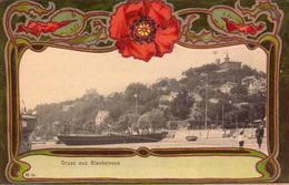 Allemagne, Blankenese, Gruss Aus Bla...., Decor Art Nouveau      (bon Etat) - Blankenese