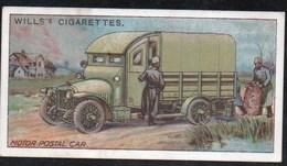 Vieux Papiers > Chromos & Images > Non Classés Wills S Cigarettes  MILITARY MOTORS MOTOR POSTAL CAR N°46 - Old Paper