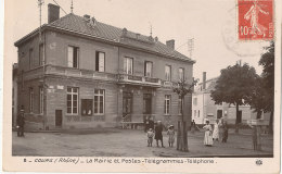 69 // COURS   La Mairie Et Poste - Cours-la-Ville