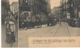 """44 // NANTES   Dimanche 14 Juin 1931 Naufrage Du Vapeur D Excursion """"st Philibert"""" Mgr L Eveque Et Les Chars Funéraires - Nantes"""