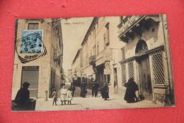 Adria Rovigo Corso V. E. 1908 Animatissima Bellissima +++++++ - Italia