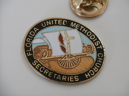 Pin's - FLORIDA UNITED METHODIST CHURCH SECRETARIES - Administrations