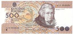 Portugal - 500 Escudos (500$00) 1987 20 Nov - UNC - Portugal