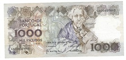 Portugal - 1000 Escudos (1000$00) 1990 20 Dec - Almost UNC - Portugal