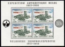 Belgique - BF 31 ** Expédition Antarctique Belge 1957-1958 (chiens, Dogs) - Antarctic Expeditions