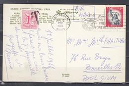 Postkaart Van Grand Canyon Met Getakseerd In Belgie - United States