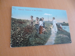 CPA Chine China  Chinese Children In The Country  Paypal Ok Out Of Europe - China