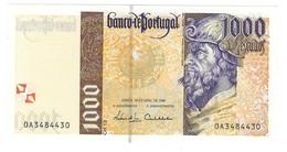 Portugal - 1000 Escudos (1000$00) 1996 18 April - UNC - Portugal