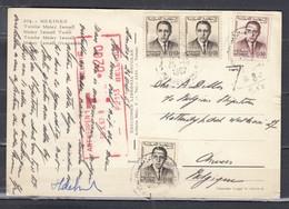 Postkaart Van Marokko Getakseerd In Belgie Antwerpen 1 - Maroc (1956-...)