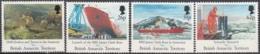 British Antarctic Territory 1991 Michel 185 - 188 Neuf ** Cote (2005) 10.20 Euro Navire James Clark Ross - Territoire Antarctique Britannique  (BAT)