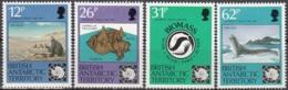 British Antarctic Territory 1991 Michel 181 - 184 Neuf ** Cote (2005) 10.20 Euro 30 Ans Traite Antarctique - Territoire Antarctique Britannique  (BAT)