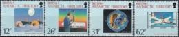 British Antarctic Territory 1991 Michel 177 - 180 Neuf ** Cote (2005) 10.20 Euro Destruction De La Couche D'ozone - Territoire Antarctique Britannique  (BAT)