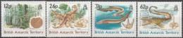 British Antarctic Territory 1991 Michel 173 - 176 Neuf ** Cote (2005) 14.10 Euro Animaux Préhistoriques - Territoire Antarctique Britannique  (BAT)