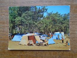 """île De Ré , Sainte-marie , Une Vue Du Camping """" Les Grenettes """" """" Carte Animée Vacanciers """" - Ile De Ré"""