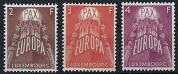 1957 Série Europa, 3 Timbres Neuf Avec Gomme,sans Charnière, Michel: 572-574 (2scans) - Luxembourg
