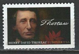 USA. Scott # 5202 MNH. Henry David Thoreau 2017 - Unused Stamps