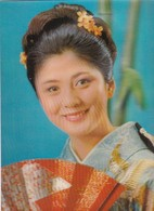 3D TRIDIMENSIONAL JAPAN WOMAN GEISHA 芸者 CIRCA 1970's.- BLEUP - Kostums